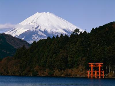 Mount Fuji and Lake Ashi