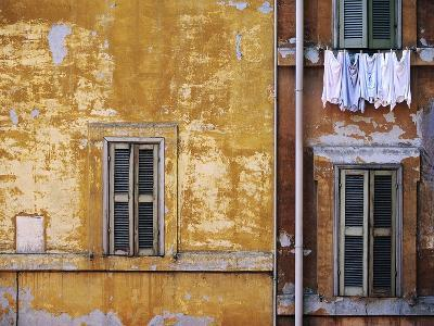 Wall of Building in Rome