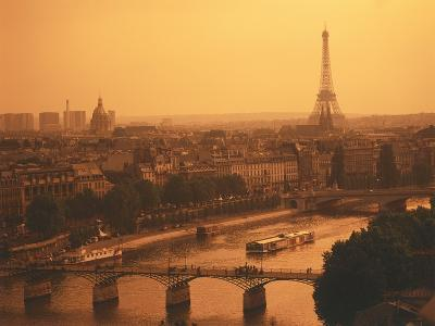 Paris and Eiffel Tower