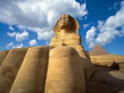 Base of the Great Sphinx