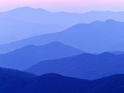 Great Smoky Mountains at Dusk