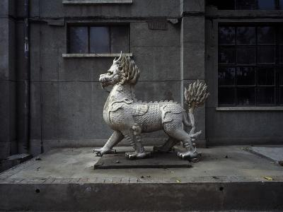 Animal Sculpture at Dashanzi Art District in Beijing