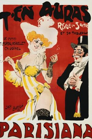 T'en Auras, Parisiana Poster