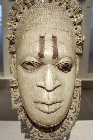 Benin Iyoba Pendant Mask
