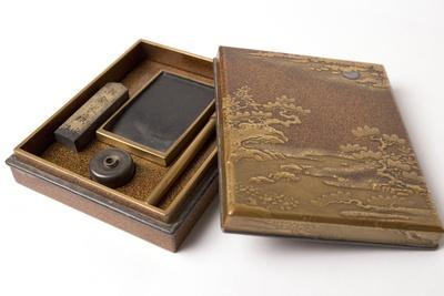 18th Century Japanese Lacquered Writing Case