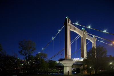 Bridge across Mississippi River, Minneapolis, Minnesota