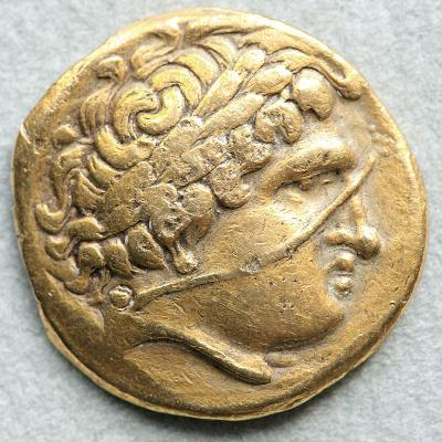 Gold Coin with Head of Apollo