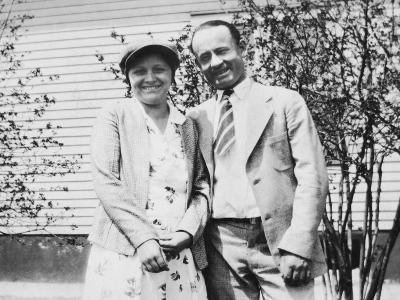 Happy Young Couple, Ca. 1930