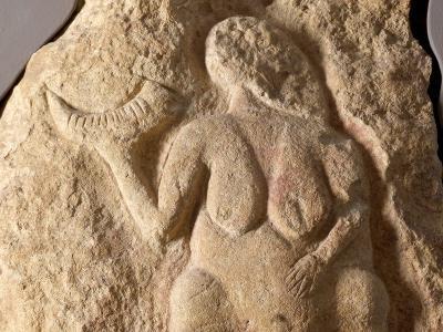 Detail of Venus of Laussel