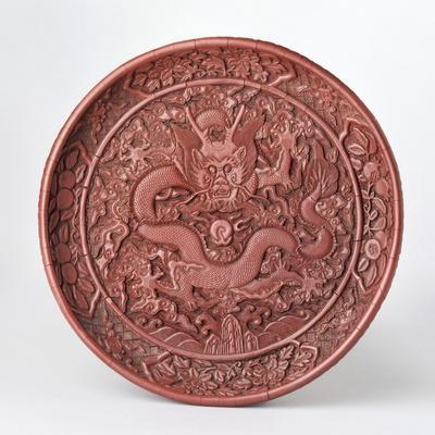 Dragon on a Carved Platter