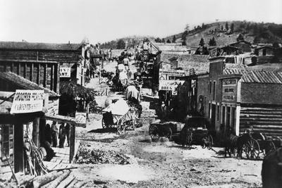 Helena, Montana, in 1865