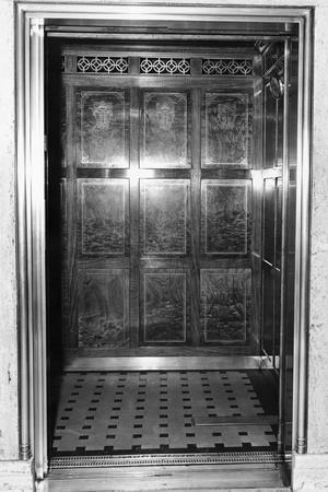 An Otis Elevator Inside a Hotel