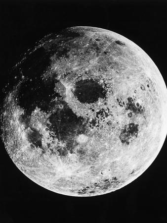 Moon Seen from Apollo 11