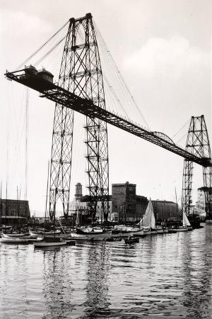 Marseille Transporter Bridge or Pont Transbordeur (C. 1940)