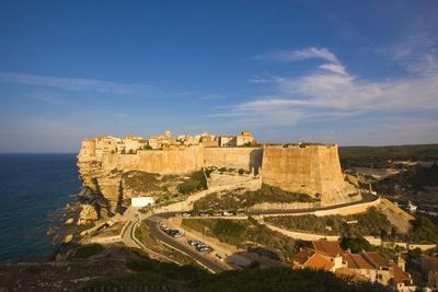 Citadel and High Town, Boniface, Corsica, France
