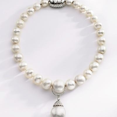 Choker-Length Pearl Necklace