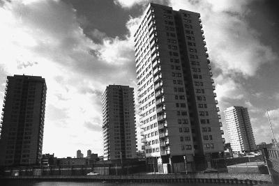 High Rise Flats in Hackney
