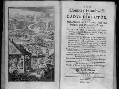 Title Page of an Old Cook Book