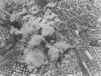 Allied Air Raid on Rome