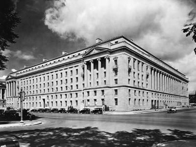 Department of Justice Building in Washington D. C.