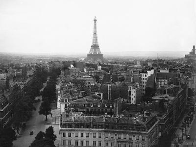 Aerial View over Paris