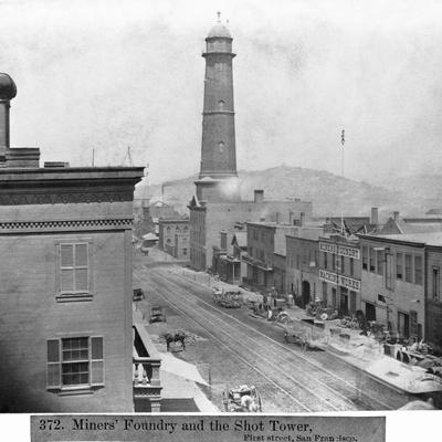 Shot Tower and the Miners Foundry in San Francisco