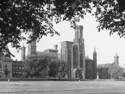 Exterior View of Smithsonian Institute