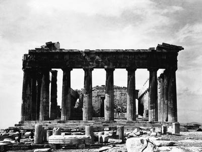 Acropolis, Parthenon, East Side, Athens, Greece