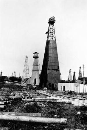 American Oil Wells in Romania