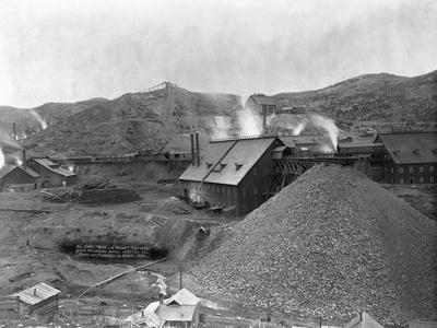A Large Mining Facility Part of the Homestake Works