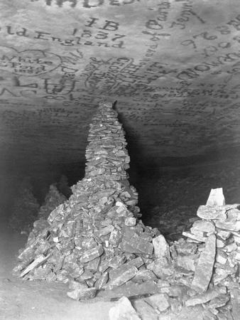 Graffiti Inside Mammoth Cave