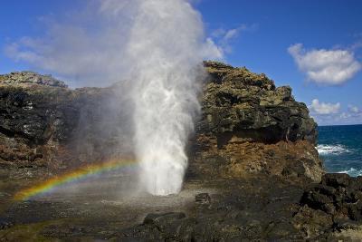 Blowhole at Nakalele Point