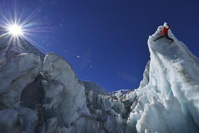 Ice Climbing in the Bernese Oberland, Swiss Alps