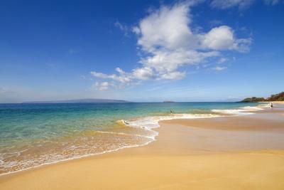 Oneloa Beach Makena Beach Big Beach Makena State Park Maui Hawaii