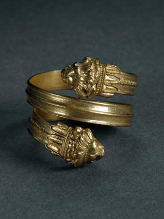 Spiral Ring, with Lion Protomes, End 4Th-Beginning 3Rd Century B