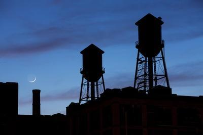 Water Towers, Jersey City, New Jersey