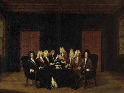 Treaty of Baden by Johan Rudolf Huber