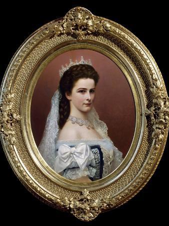 Elisabeth Empress of Austria by Georg Raab