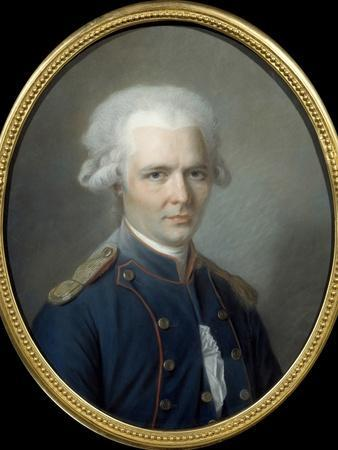 Portrait of the French Writer Pierre Choderlos De Laclos