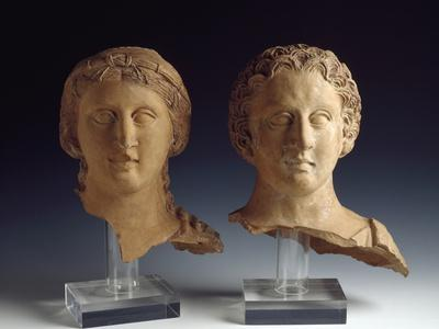 Magna Graecia : Female Bust and Male Bust