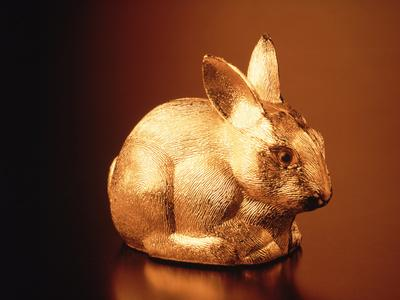 Golden Easter Bunny
