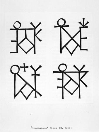 Stonemasons' Symbols
