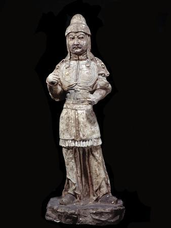 Statuette of a Warrior, Tang Dynasty, 618-907
