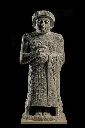 Gudea, Prince of Lagash, Called Statue with Gushing Vase