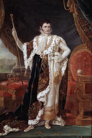 Portrait of Jerome Bonaparte by Francois-Joseph Kinson