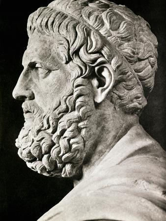 Sculpture of Sophocles