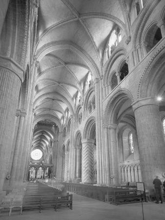 Interior of Durham Cathedral