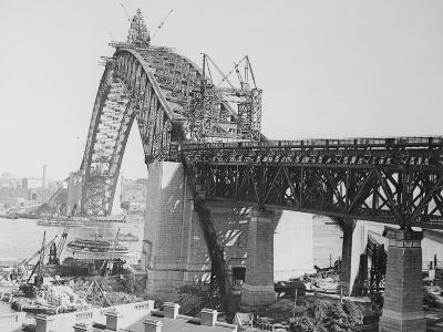 Larges Arch Bridge in Australia
