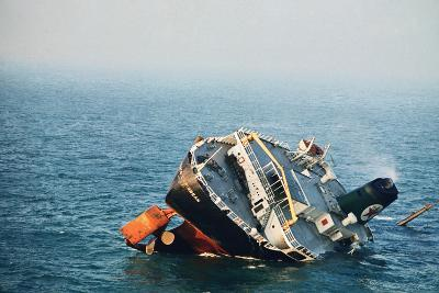 Sinking Tanker