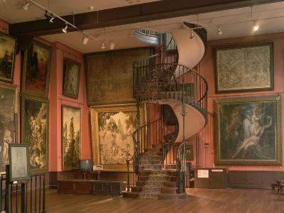 Inside the Musee Gustave Moreau